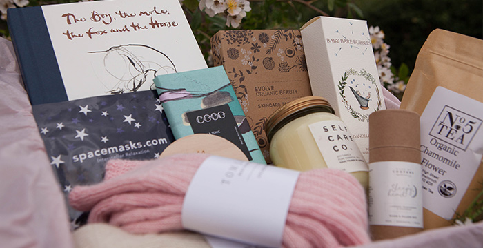 Newborn gifts for mums. New mum gift box by Autumn Willow.
