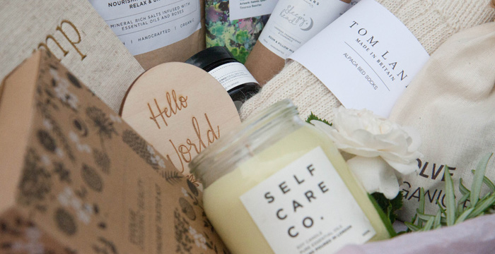 Newborn gifts for mums. Pregnancy gift box by Autumn Willow.