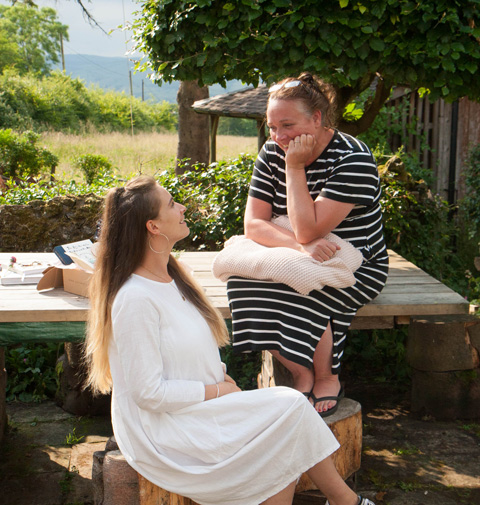 Autumn Willow offers newborn gifts for mums. Mother daughter duo Sharon and Simone